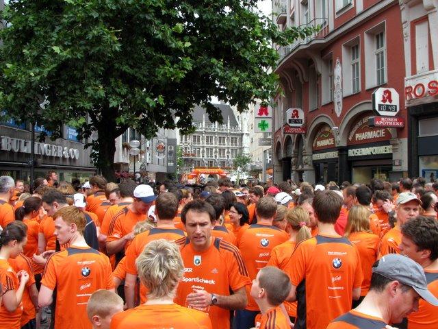 Münchner Stadtlauf kurz vor dem Start